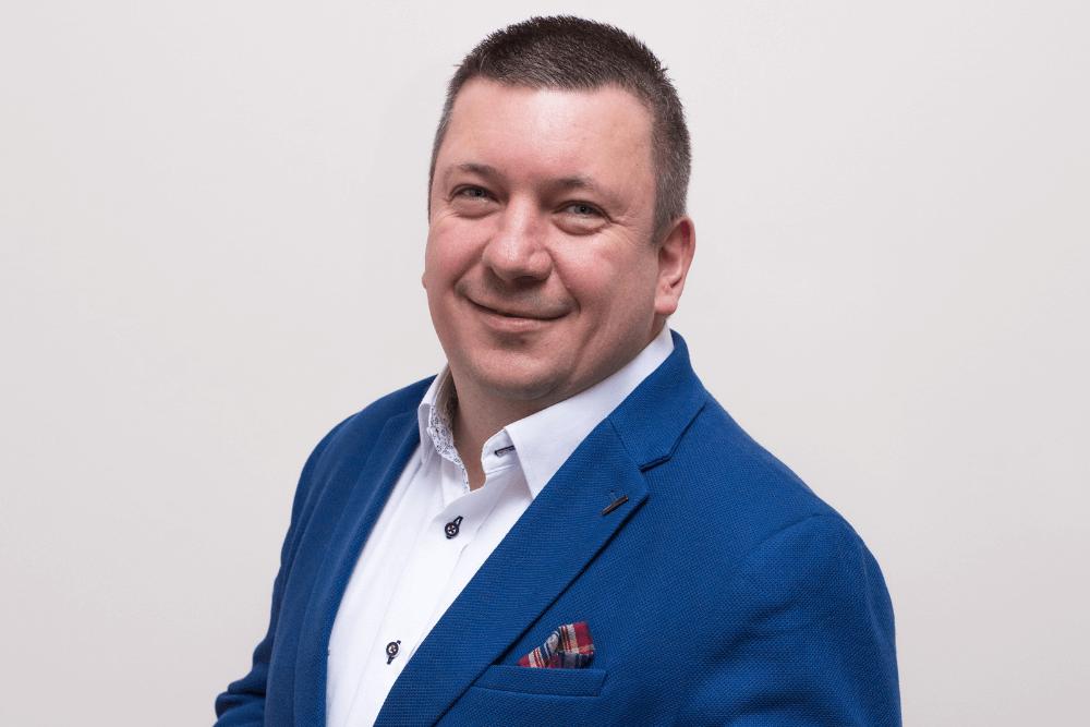 Marcin Brzeziński - CEO Gogler Białystok